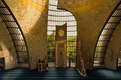 In der Moschee beim Gebet