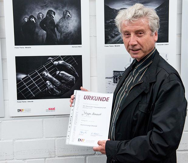 Jürgen Bennoit, Klangvoll, Urkunde