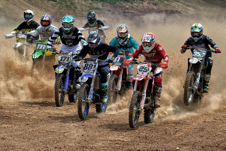 """""""Motocross"""", Jürgen Bennoit"""